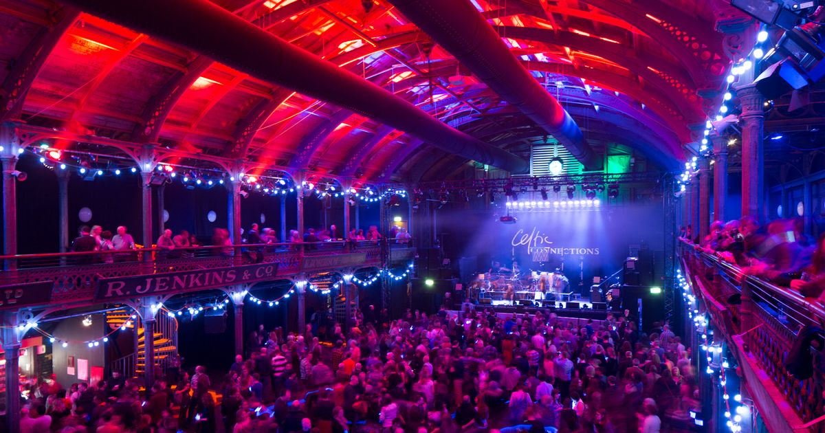 Celtic Connections Old Fruitmarket (Photo by Glasgow Live)