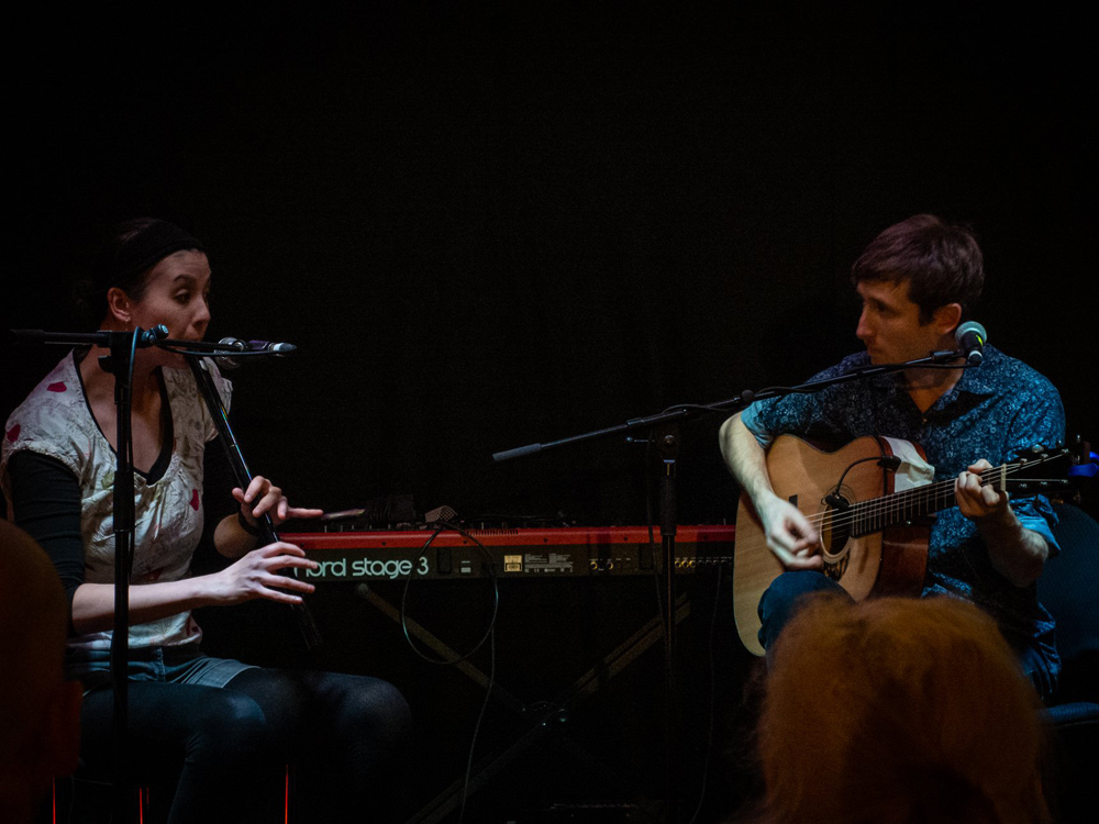 Rachel and Dan at Danny Kyle 2019 - photo by Michael Ozmond